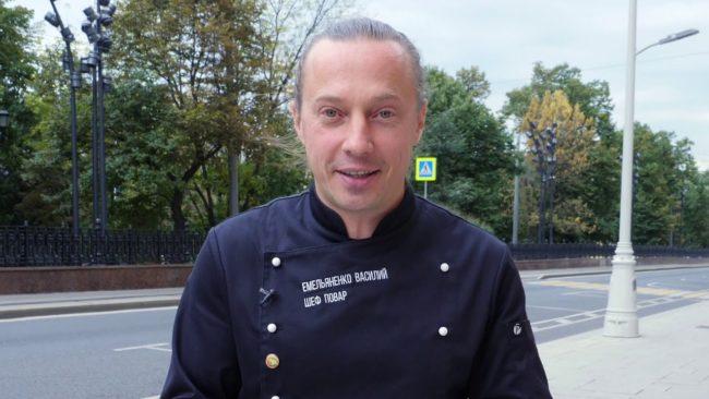 Василий Емельяненко шеф-повар