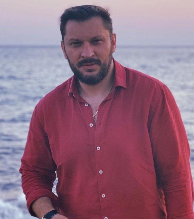 Марк Бартон на море