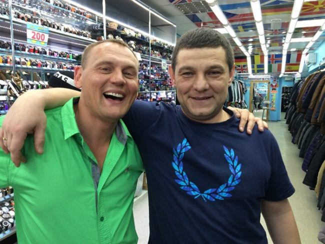 Дмитрий Солдатов с фанатом